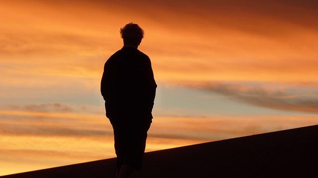 "Photo Credit: ""Sunset Atacama Desert Man Silhouette Shadow Alone"" by Sebastian Del Val"